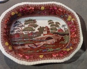 Copeland Spode Tower Polychrome Vegetable Dish
