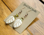 Leaf Earrings to support WWF Canada