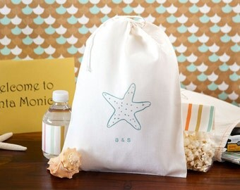 Destination Wedding Welcome Bags - Starfish Wedding Welcome Bag - Beach Wedding - Starfish Wedding Welcome Bags