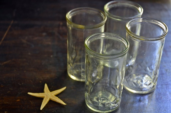 small canning jars ball jar jam jelly jar set of 4 by. Black Bedroom Furniture Sets. Home Design Ideas