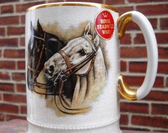 Arthur Wood Horse Tankard