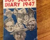 Boy Scout Diary 1947