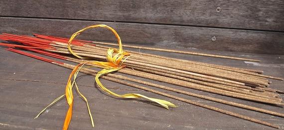 Incense Sticks - Orange Scented - Hand-dipped Incense - Vegan - Eco Friendly Stick - Incense