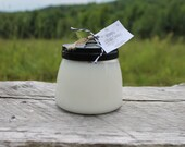 Summer Scents-Handpoured 4oz Pure Soy Candle Jar with Black Metal Lid-Vermont Cottage Candles