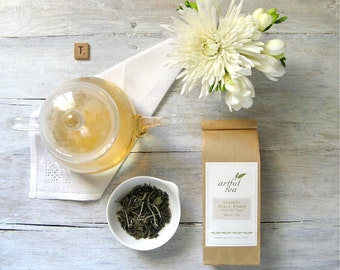 Organic White Peony Tea • 1.5 oz. Kraft Bag • Pai Mu Tan Loose Leaf Tea