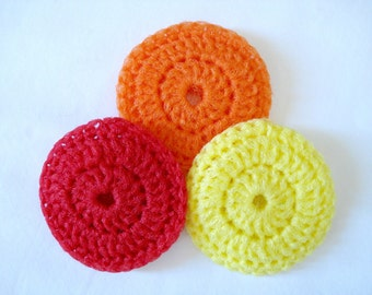 Nylon Pot Scrubby Double Sided Scrubber