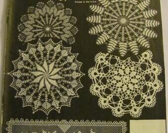Lovely 1979 Vintage Crochet Book Volume 41. Designs by Elizabeth Hiddleson.