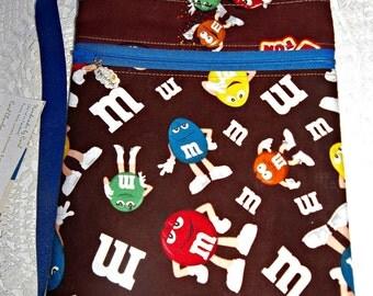 Sling Messenger purse M Ms Candy multi zip pockets cross body zippered crossbody