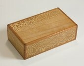 Simple jewelry box of sycamore and padauk