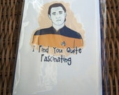 Star Trek Data Card