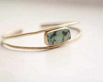 African Jasper Arc Bracelet