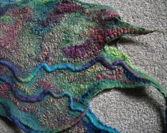 Felted Wrap or Scarf