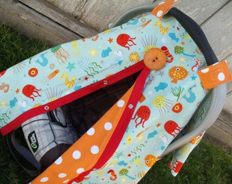 Carseat Canopy Ocean Life