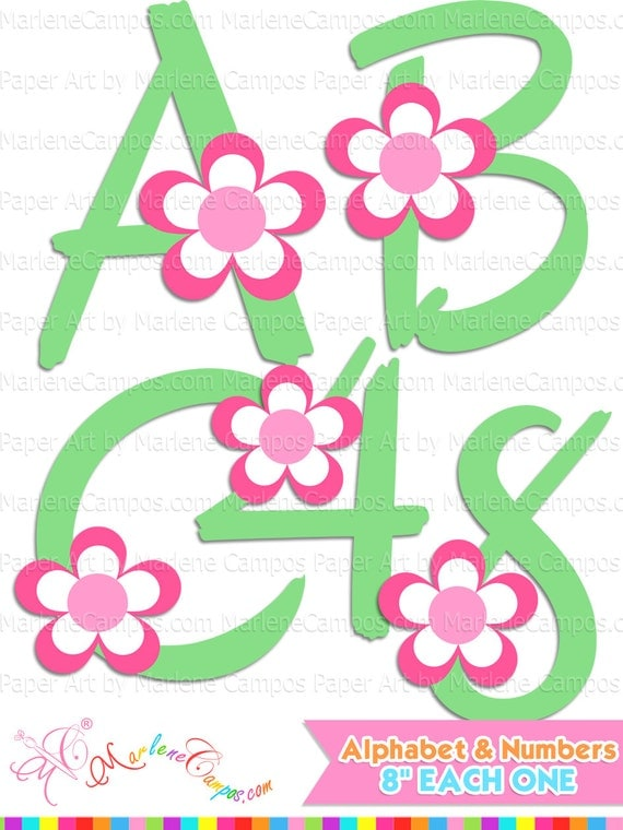 free clipart letters and numbers - photo #30