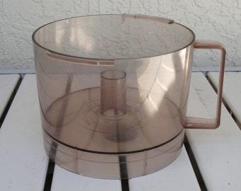 Vintage HAMILTON BEACH Electric Food Processor Model 702-4 Work Bowl Replacement Part(s).