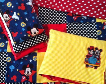 DOWN PAYMENT for CUSTOM Mickey Mouse Baby Quilt