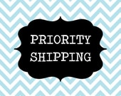 PRIORITY SHIPPING for any self-inking stamp