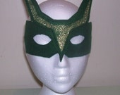 Dragon, Super Hero child's felt mask with reinforced elastic band
