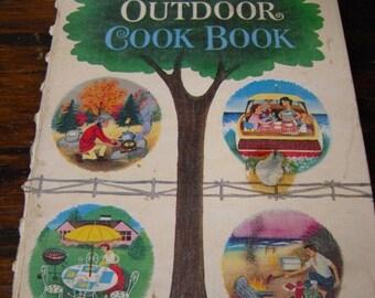 1961 Betty Crocker's Outdoor Cookbook Vintage Cookbook