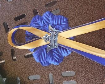 Custom     royalty prince princess   theme  Baby shower/birthday personalized  corsage &25   pinons/capias