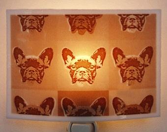 French Bulldog  night light - Pop art style