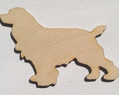 Dog Lovers - Irish Setter - 3 Inch High, Unfinished - for Crafts, Charms, Pendants, DIY Projects SH-235
