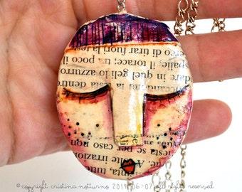 Paper Mache Necklace