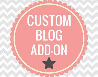 Custom Blog Add-Ons