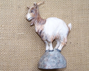 Goat Woodcarving