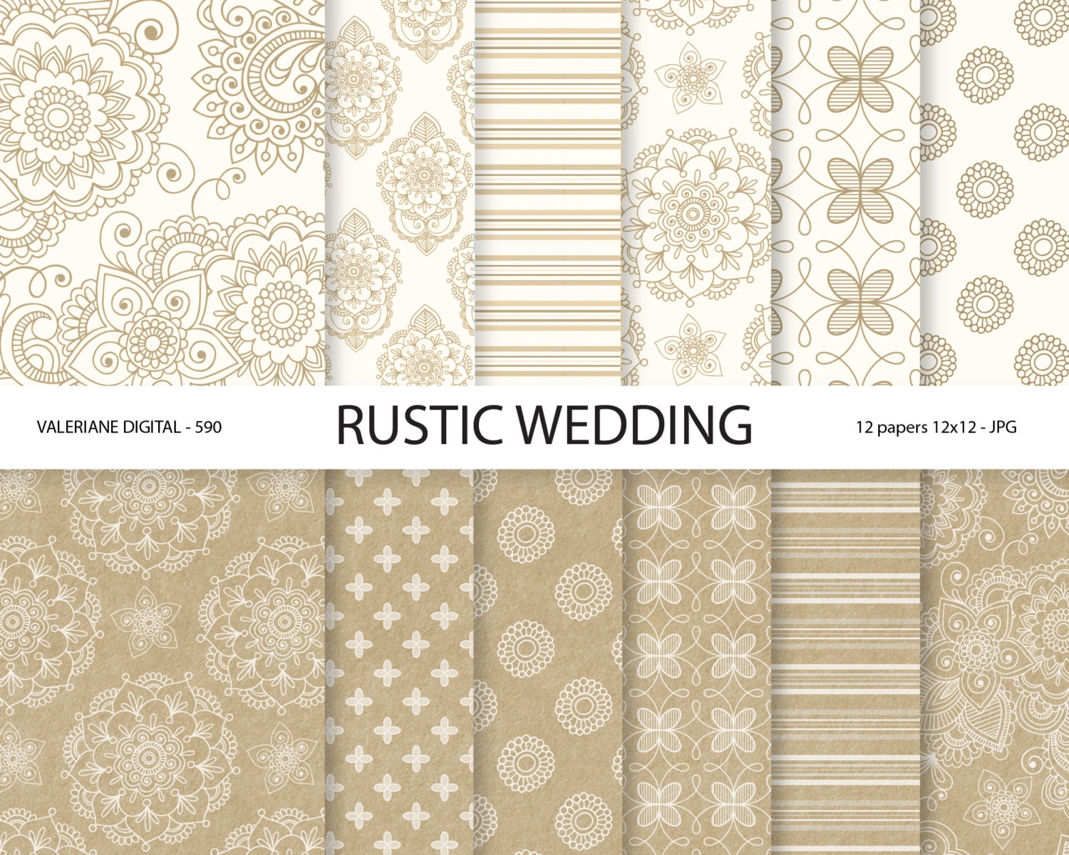 12x12 wedding scrapbook paper - This Is A Digital File