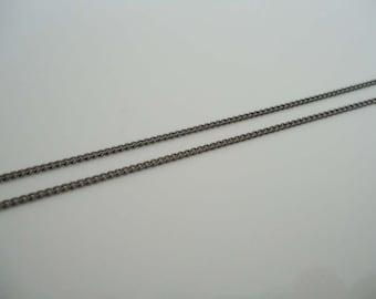 A-95-1. 20 M,  Black Plated 145sf chain