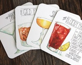 Classic Cocktail Coasters