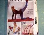 Vintage McCall's 8365 Sports Accessory Package Pattern