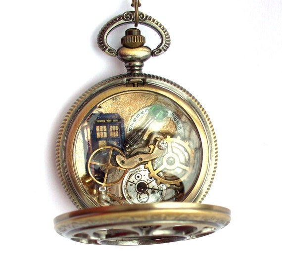 doctor who pocket necklace the history of the