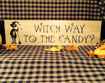 Witch WayTo The Candy?