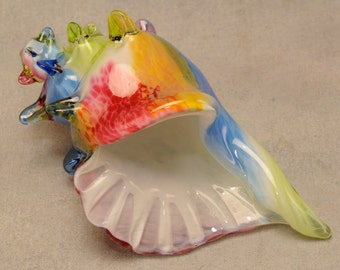 Glass Conch Shell