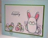 Bunny Easter Card