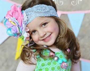 Happy Birthday Flower Headband