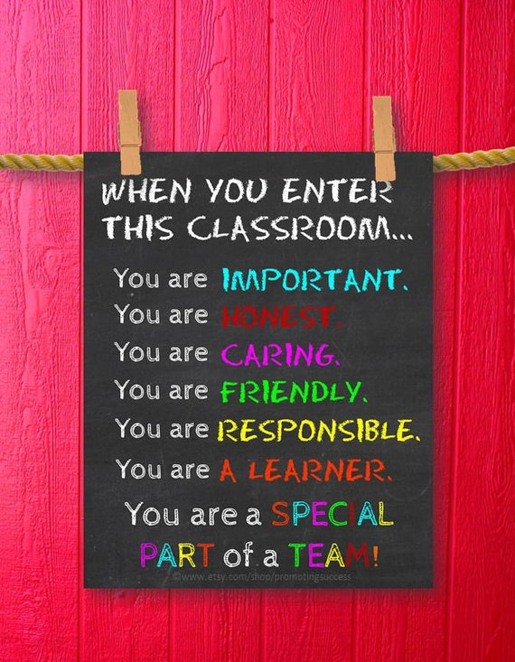 Classroom Decor Gifts ~ Teacher gift classroom decor gifts for teachers appreciation