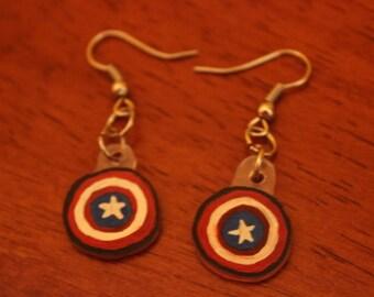 O Captain My Captain Earrings