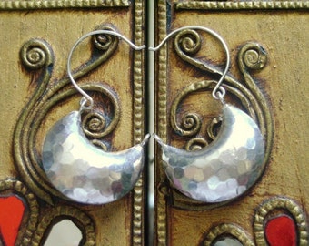 Fine Silver Earrings-The Smile Silver Bag(5)