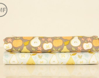 Fat Quarter Bundle Clementine In the Orchard, 2 Pieces, Ana Davis, 100% Cotton Fabric, Blend Fabrics, 113.104.06