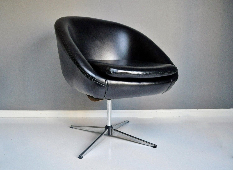 Atomic Hurstline Swivel Chair