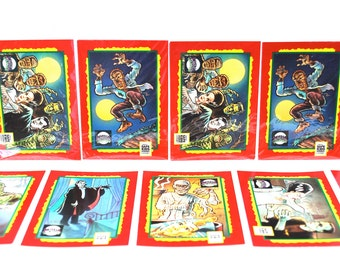 Universal Monster Trading Card Treats 6 Card Set Impel 1991