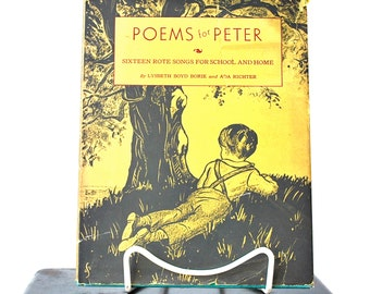 Poems For Peter 16 Rote Songs For School & Home Lysbeth Boyd Borie HC