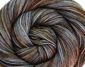 sw merino nylon high twist sock yarn SLUMBER hand dyed fingering weight 3.5oz 400 yards