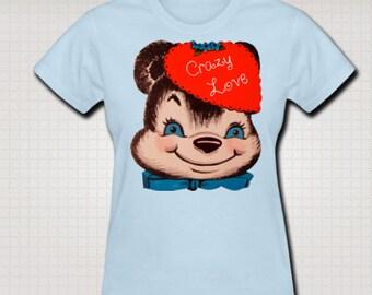 Vintage Valentine Bear T-Shirt