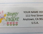 Happy Easter Whimsical Design -- Theme Package Number Six -- Return Address Label