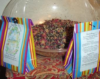 DESERT REIGN Great sage, rosebuds, lavender, fennel, black tea