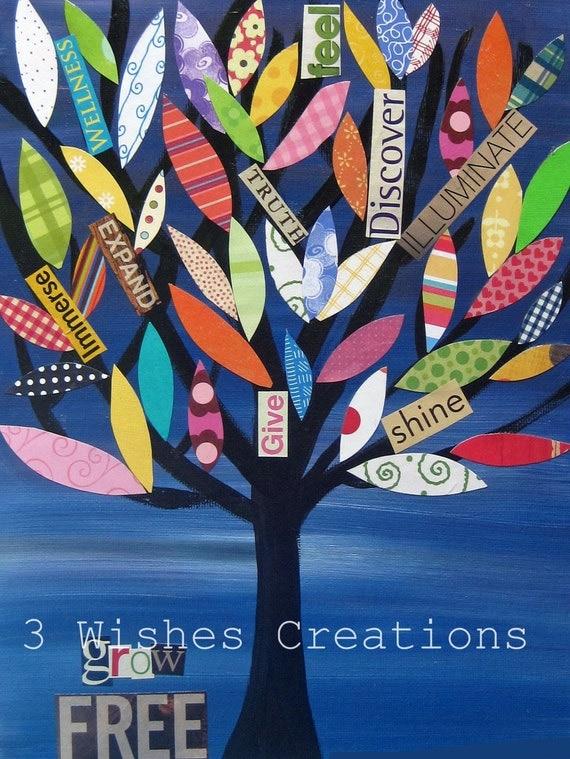 Grow Free Tree (8 x 10)  print